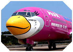 nok air flights to ranong