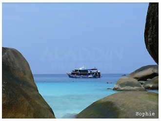 dt at the similan islands